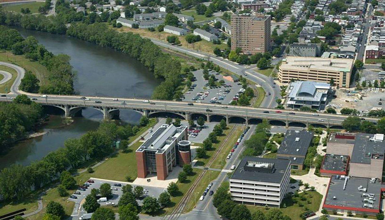 Penn street bridge slide