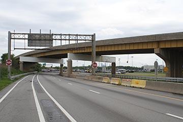 Refined load ratings for 14 steel curved girder bridges- PennDOT E02352, E02416